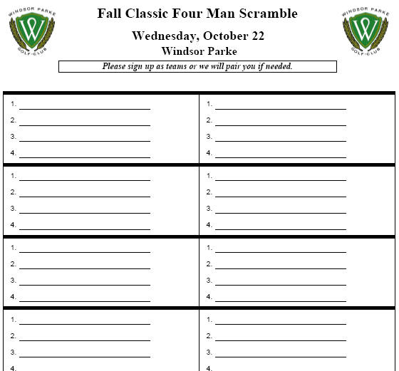 tournament sign up sheets - Parfu kaptanband co