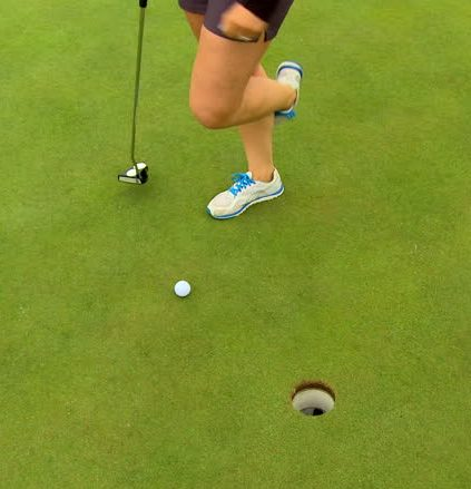 Accidental Movement of a Ball on a Putting Green